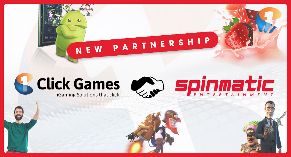 1ClickGames to integrate Spinmatic's suite of video slots   Spinmatic Entertainment