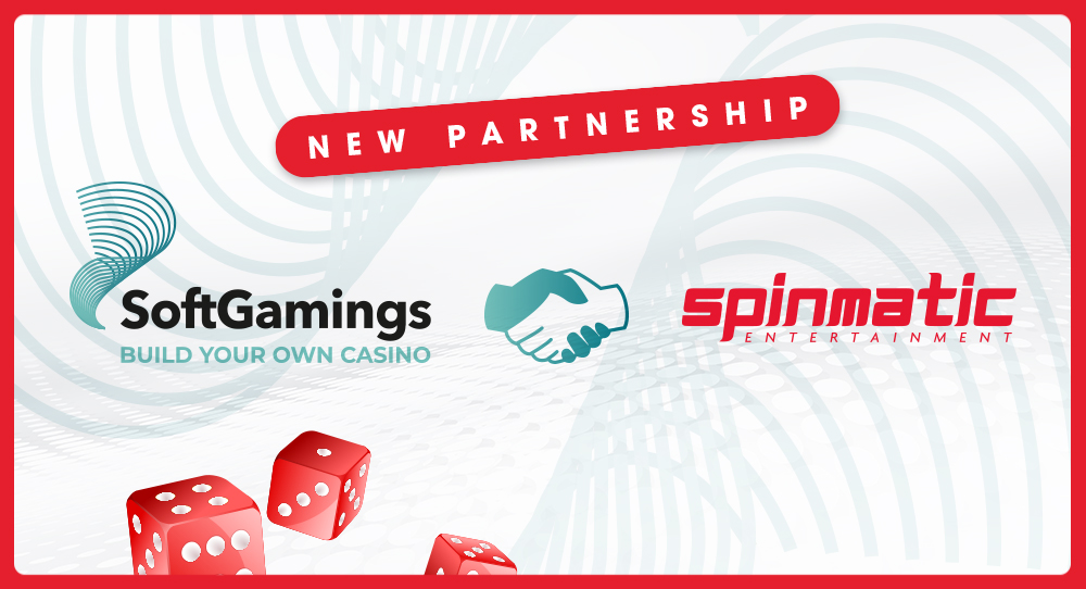 SoftGamings becomes new Spinmatic distribution channel | Spinmatic Entertainment