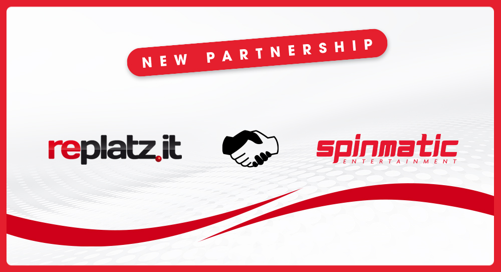 Spinmatic deal with Replatz to gain presence in the Italian market   Spinmatic Entertainment